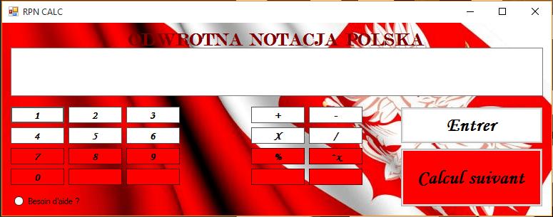 Calculatrice RPN