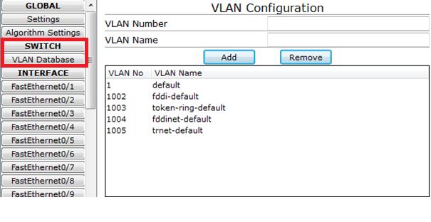 Mise en place de la VLAN
