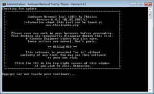 JRT Junk Removal Tool - Supprimer les malwares et junkware
