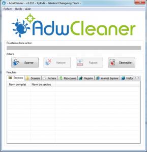 adwcleaner - Supprimer les logiciels publicitaires