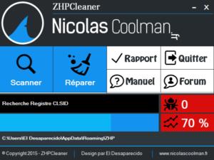 zhpcleaner - Supprimer les paramètres proxy