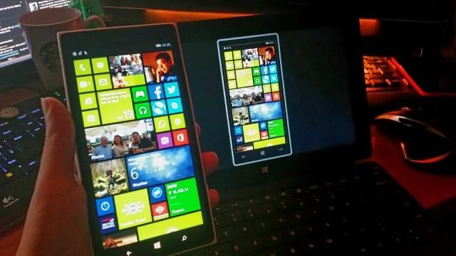 contrôle à distance pour Windows 10 Mobile