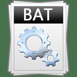 Comment créer des fichiers bat (exécutables)