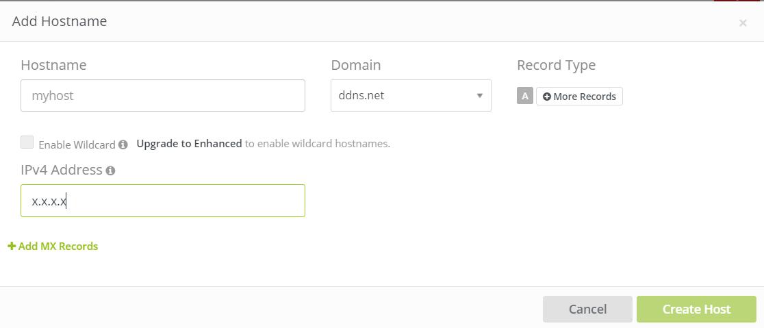 Convertir son IP dynamique en IP fixe (nom d'hôte)