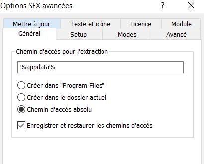 Crypter un RAT pour réduire sa détection - WinRAR 2