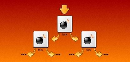Surcharger un système avec une Fork bomb
