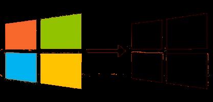 Activer le thème sombre de Windows 10 via le registre