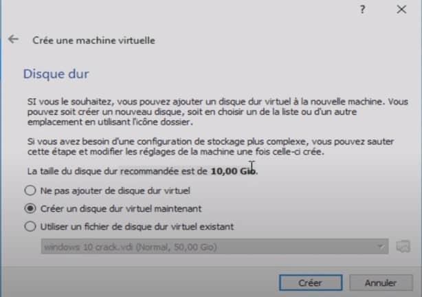 Installer Kali Linux dans une VM 2
