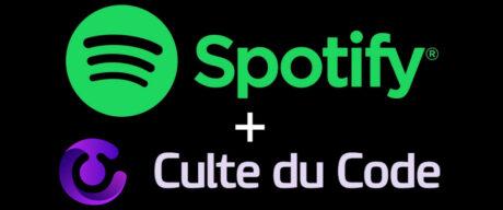 Spotify + Culte du code