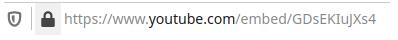 Embed YouTube 2